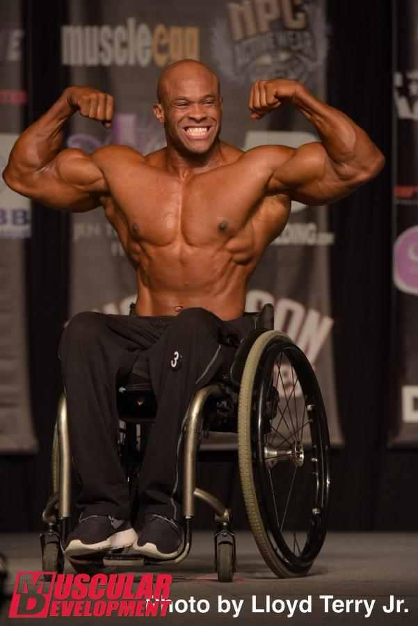Ronnie coleman wheelchair