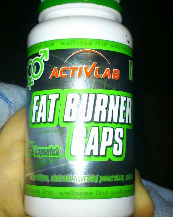 activlab wellness line fat burner caps