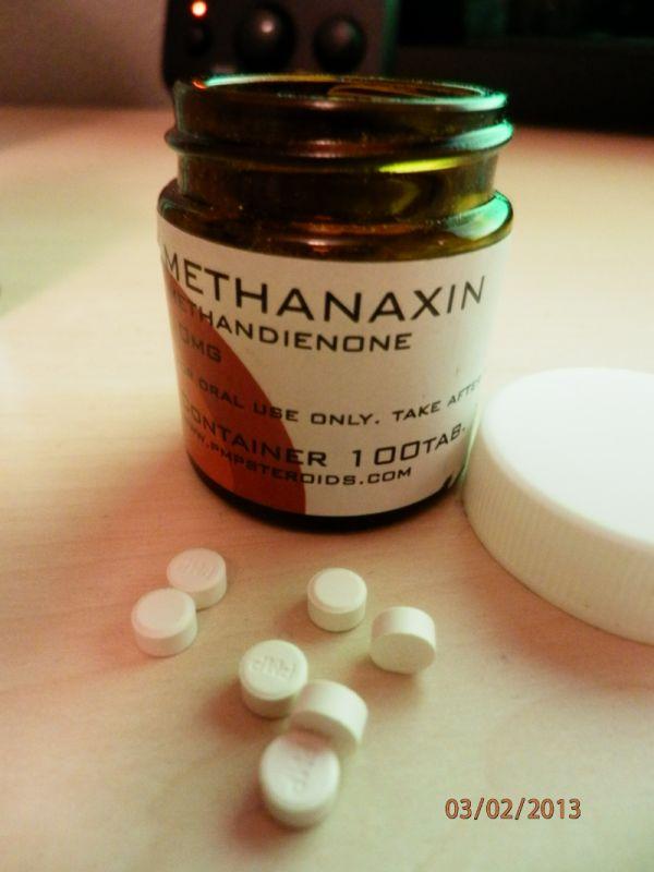 methanaxin pmp steroids efekty