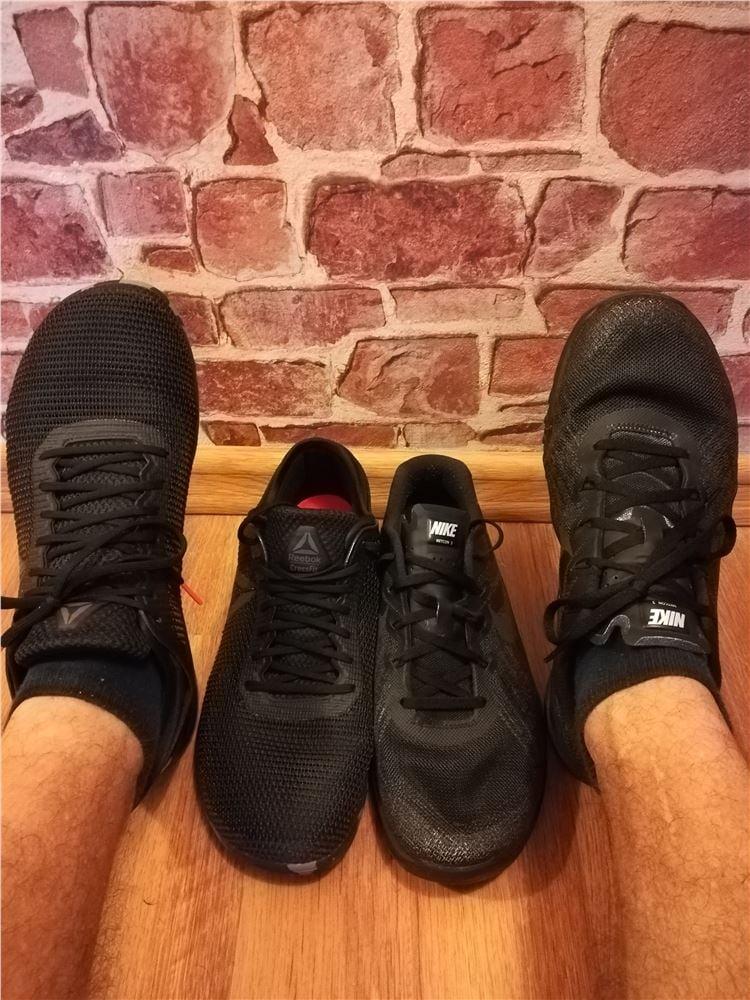 Nike METCON 3 vs Reebok NANO 8.0 Forum SFD