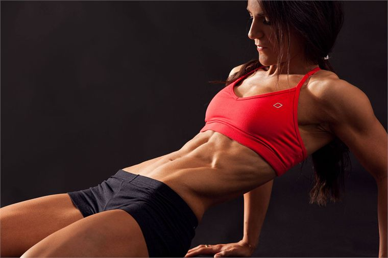 Female fitness models wallpaper