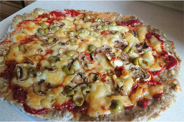 Pizza low carb sfd